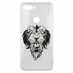 Чехол для Xiaomi Mi8 Lite Muzzle of a lion