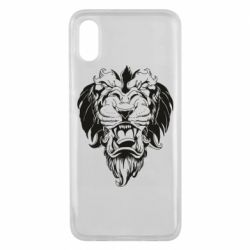 Чехол для Xiaomi Mi8 Pro Muzzle of a lion