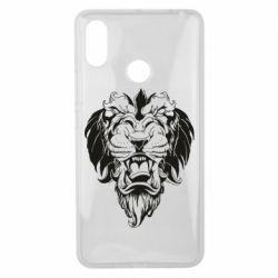 Чехол для Xiaomi Mi Max 3 Muzzle of a lion
