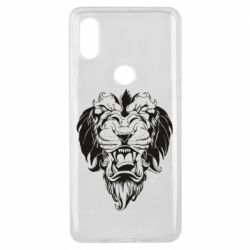 Чехол для Xiaomi Mi Mix 3 Muzzle of a lion