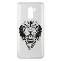 Чехол для Xiaomi Pocophone F1 Muzzle of a lion