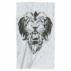 Полотенце Muzzle of a lion