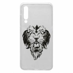 Чехол для Xiaomi Mi9 Muzzle of a lion