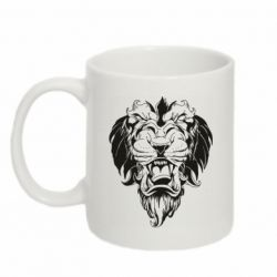 Кружка 320ml Muzzle of a lion