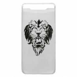 Чехол для Samsung A80 Muzzle of a lion