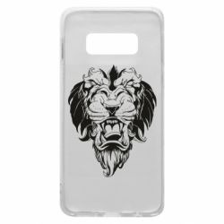 Чехол для Samsung S10e Muzzle of a lion