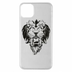 Чехол для iPhone 11 Pro Max Muzzle of a lion