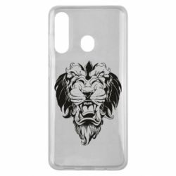 Чехол для Samsung M40 Muzzle of a lion