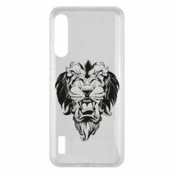 Чохол для Xiaomi Mi A3 Muzzle of a lion