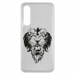 Чехол для Xiaomi Mi9 SE Muzzle of a lion
