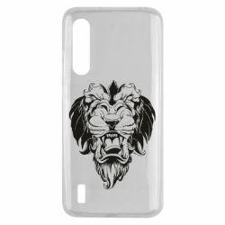 Чехол для Xiaomi Mi9 Lite Muzzle of a lion