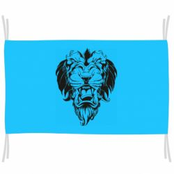 Флаг Muzzle of a lion