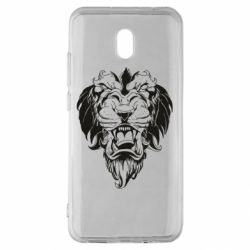 Чехол для Xiaomi Redmi 8A Muzzle of a lion