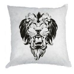 Подушка Muzzle of a lion