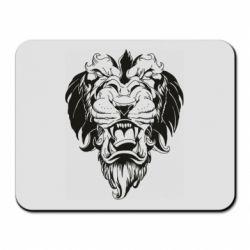 Коврик для мыши Muzzle of a lion
