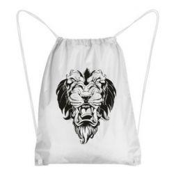 Рюкзак-мешок Muzzle of a lion