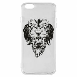 Чехол для iPhone 6 Plus/6S Plus Muzzle of a lion