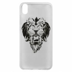 Чехол для Xiaomi Redmi 7A Muzzle of a lion