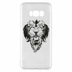 Чехол для Samsung S8 Muzzle of a lion