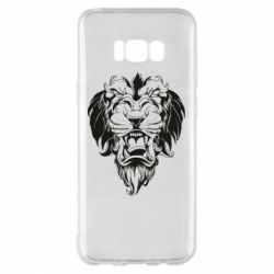 Чехол для Samsung S8+ Muzzle of a lion