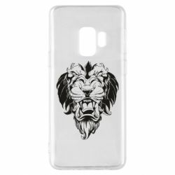 Чехол для Samsung S9 Muzzle of a lion