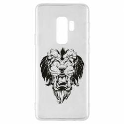 Чехол для Samsung S9+ Muzzle of a lion