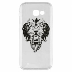 Чехол для Samsung A5 2017 Muzzle of a lion