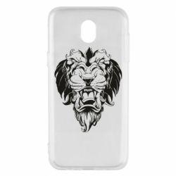 Чехол для Samsung J5 2017 Muzzle of a lion