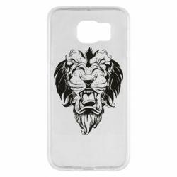 Чехол для Samsung S6 Muzzle of a lion
