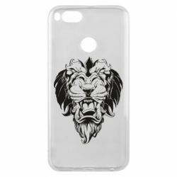 Чехол для Xiaomi Mi A1 Muzzle of a lion