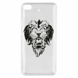 Чехол для Xiaomi Mi 5s Muzzle of a lion