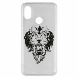 Чехол для Xiaomi Mi8 Muzzle of a lion