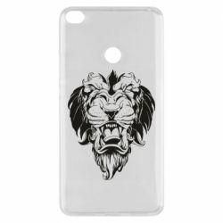 Чехол для Xiaomi Mi Max 2 Muzzle of a lion