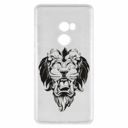 Чехол для Xiaomi Mi Mix 2 Muzzle of a lion