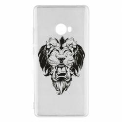 Чехол для Xiaomi Mi Note 2 Muzzle of a lion