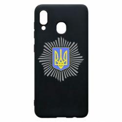 Чохол для Samsung A30 МВС України