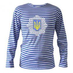 Тельняшка с длинным рукавом МВС України - FatLine