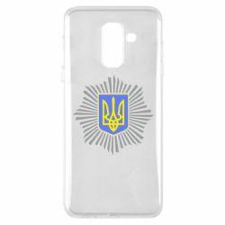 Чохол для Samsung A6+ 2018 МВС України