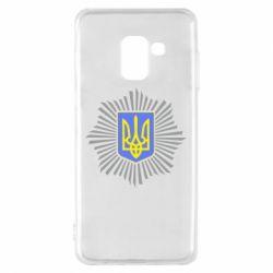 Чохол для Samsung A8 2018 МВС України