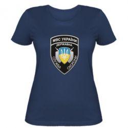 Жіноча футболка МВС України