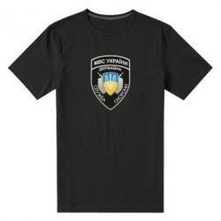 Чоловіча стрейчева футболка МВС України