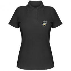 Жіноча футболка поло МВС України