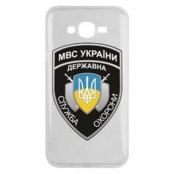 Чохол для Samsung J7 2015 МВС України