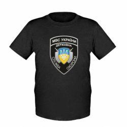 Дитяча футболка МВС України
