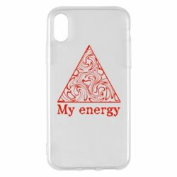 Чохол для iPhone X/Xs My energy