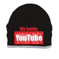 Шапка My family youtube
