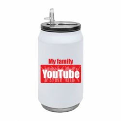 Термобанка 350ml My family youtube