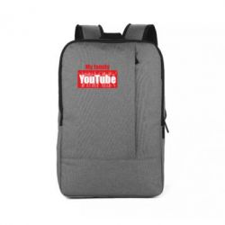 Рюкзак для ноутбука My family youtube
