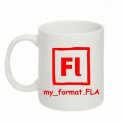 Кружка 320ml My format FLA - FatLine