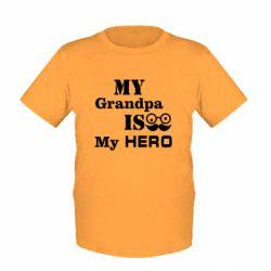 Детская футболка My grandpa